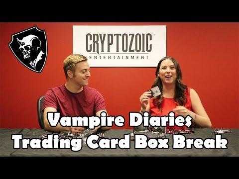 Vampire Diaries S4 Trading Card Box Break