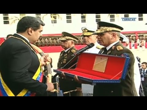 Army takes oath of loyalty to Maduro for second term