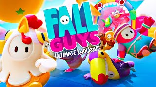 Playing FALL GUYS with MY GIRLFRIEND! (funny)