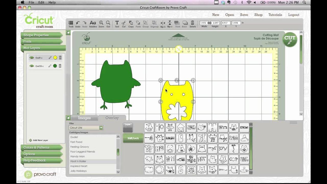 Cricket Craft Room: Easy Layering Design Tip
