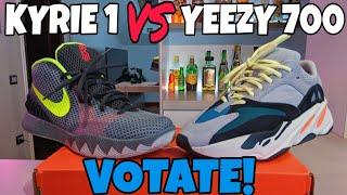 YEEZY 700 vs KYRIE 1 VOTATE !!!