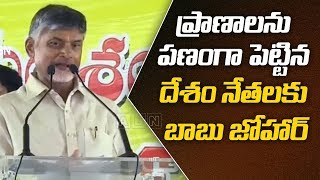 Chandrababu LIVE- Chandrababu Speaks At Srikakulam Distric..