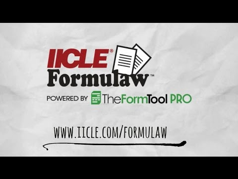 IICLE Formulaw
