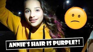 Annie's Hair Is Purple?! 😕 (WK 371.5) | Bratayley