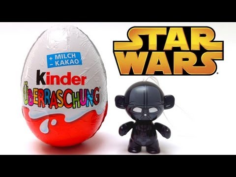 darth vader toy star wars kinder surprise egg unwrapping surprise lababymusica youtube. Black Bedroom Furniture Sets. Home Design Ideas