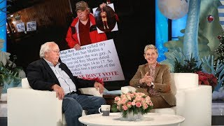 Ellen Meets Alabama Hero Dad Nathan Mathis