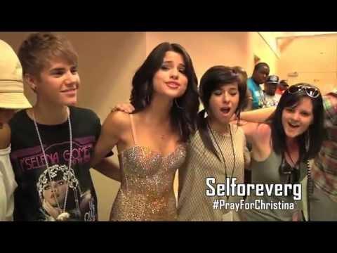 Selena Gomez & Christina Grimmie - Transfiguration #PrayForChristina