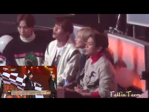 151231 SHINee react to BTS 'Perfect Man'