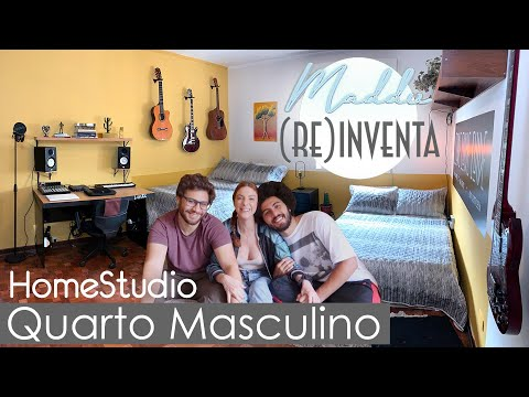 DIY Quartinho Masculino Home Studio – #Maddu(re)inventa
