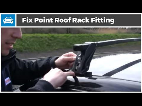 Micksgarage Fix Point Roof Rack Fitting Demonstration