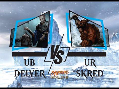 [UB Delver] Cards Realm Pauper Series 1.04 Round 4 vs UR Skred
