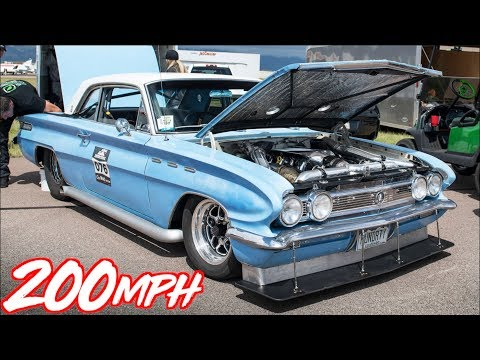 1400HP Buick Skylark on 30PSI of BOOST! - WALKS GTR from a Roll!