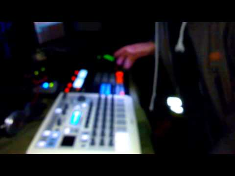 Crystal Distortion Live with Arturia Spark and NI Maschine
