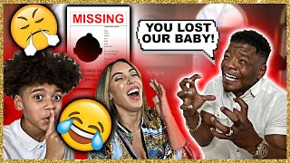 I LOST OUR BABY PRANK ON HUSBAND *HE GETS MAD* 😱😂