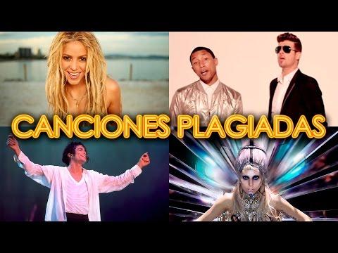 PLAGIOS MUSICALES FAMOSOS - CANCIONES PLAGIADAS - SHAKIRA BLURRED LINES MADONNA    IT'S MUSIC SERCH