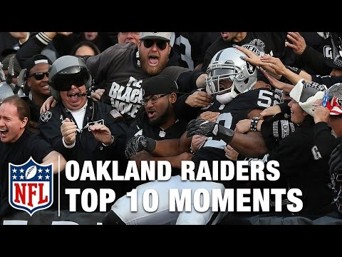 Top 10 Moments in Oakland Raider History | NFL