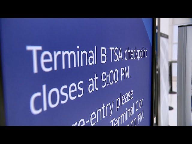 美聯邦政府續停擺 機場安檢員爆請假潮