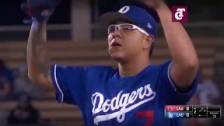 Un imponente Julio Urías cierra de manera perfecta la pretemporada con Dodgers.