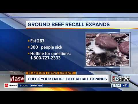 Ground beef recall has been expanded
