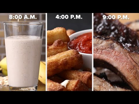 Eat 3-Ingredient Recipes For An Entire Day ? Tasty Recipes
