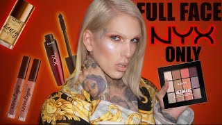 FULL FACE USING ONLY NYX PRODUCTS! | Jeffree Star