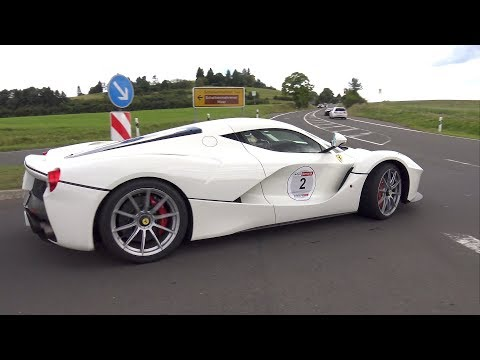 Supercars Accelerating LOUD! LaFerrari, P1, Koenigsegg Agera ML, Carrera GT & More!
