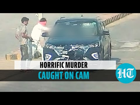 CCTV footage: Doctor couple shot dead by bike-borne assailant in broad daylight