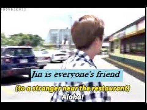 [방탄소년단/진] BTS Jin friendly personality moments - Everyone's friend ft Park Jihoon Hwang Chi Yeol...