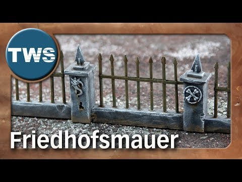 Atelier: Friedhofsmauer / cemetery wall (Tabletop-Gelände, TWS)