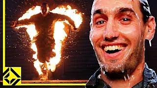 Hollywood Stuntmen Light VFX Artist on Fire