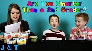 Are You Smarter Than a Second Grader? / Jake and Ty
