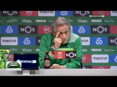 Conferência de Imprensa Jorge Jesus- Antevisão Sporting CP X Benfica