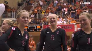 Stanford Women's Volleyball: Meghan McClure Career Highlight