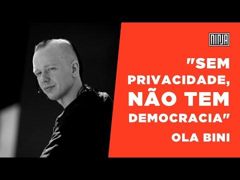 Ola Bini, ativista de software livre, fala sobre sua arbitrária prisão no Equador