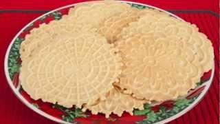 Homemade Italian Pizzelle (Med Diet Episode 57)