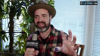 Martin Harley - interview and unplugged session - live at DBR