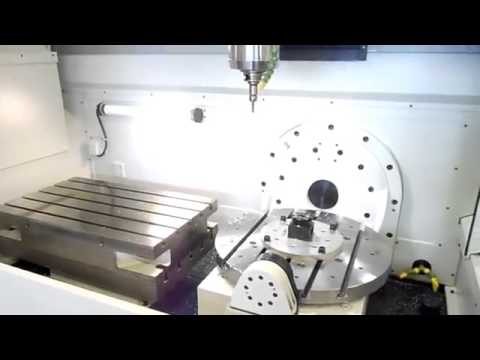 Spinner U5 1520 - 5-Axis Machining Centre VMC