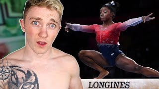 WATCHING 'SIMONE BILES' BECOME THE GREATEST GYMNAST EVER!