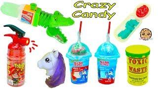 Crazy Weird Candy Haul Video - Spray Sour Candies, Juicy Drop Gum + More