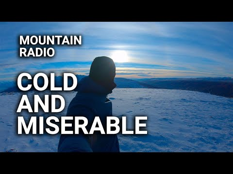 Freezing Half To Death For Summits On The Air - SOTA Portable QRP Ham Radio