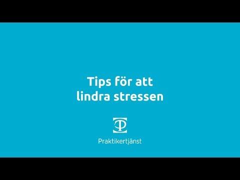 Tips för att lindra stressen