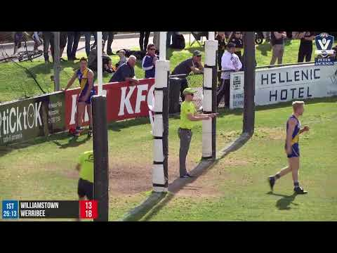 Round 17 Highlights: Williamstown vs Werribee
