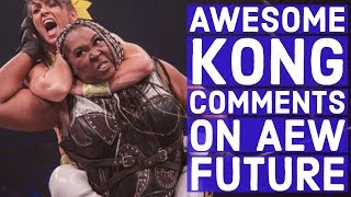 Awesome Kong Comments On AEW Future, Facing Aja Kong, Possible GLOW – AEW Crossover