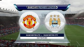 Fifa 15 - Man Utd vs Man City