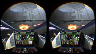 """Oculus VR screen capture - """"Star Wars: The Battle Of Endor"""" by James Clement"""
