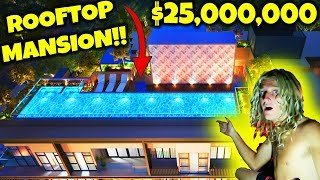 SNEAKING INTO BILLIONAIRES MANSION POOLS AT 3AM!!! | JOOGSQUAD PPJT