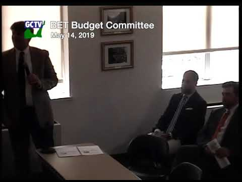 BET Budget Committee, May 14, 2019
