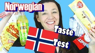 Norwegian Sweets & treats Taste Test Urge badascum Freia and more
