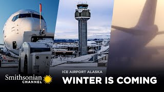 Winter is Coming to Anchorage 🌨️ Ice Airport Alaska: FULL EPISODE | Smithsonian Channel