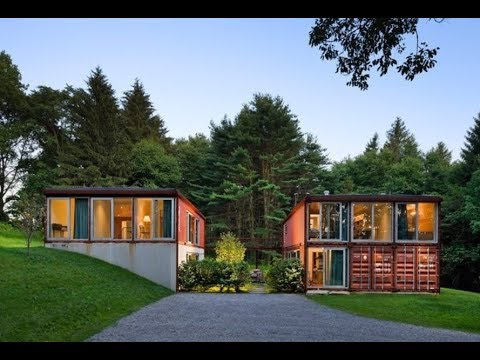 Residential Eco Shipping Container Homes - 15 Iconic Examples